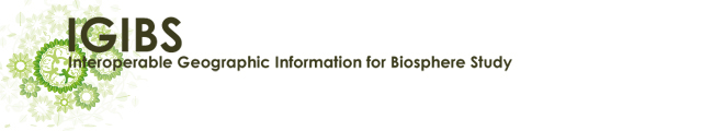 Interoperable Geographic Information for Biosphere Study